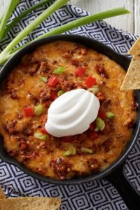 Daisy Baked Chorizo and Chipotle Queso