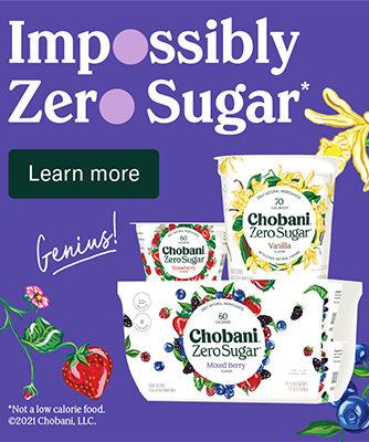 Chobani Homepage Ad 1