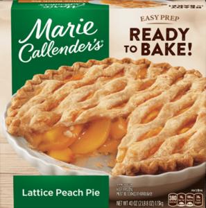 Marie Callenders Lattice Peach Pie