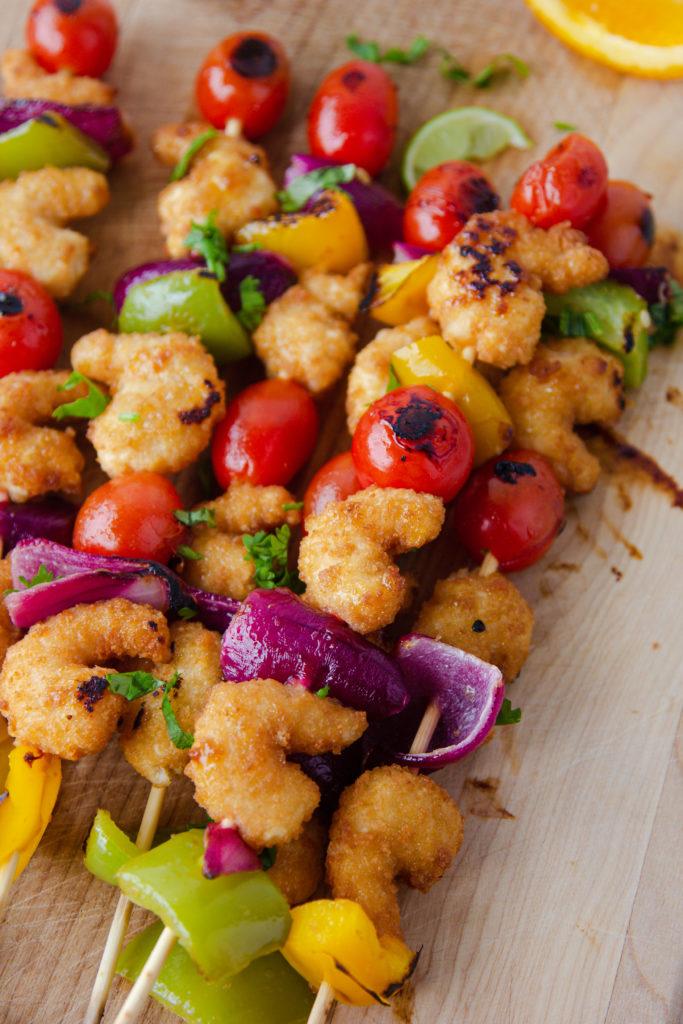 Silvia Grilled Shrimp Kabobs IG Takeover