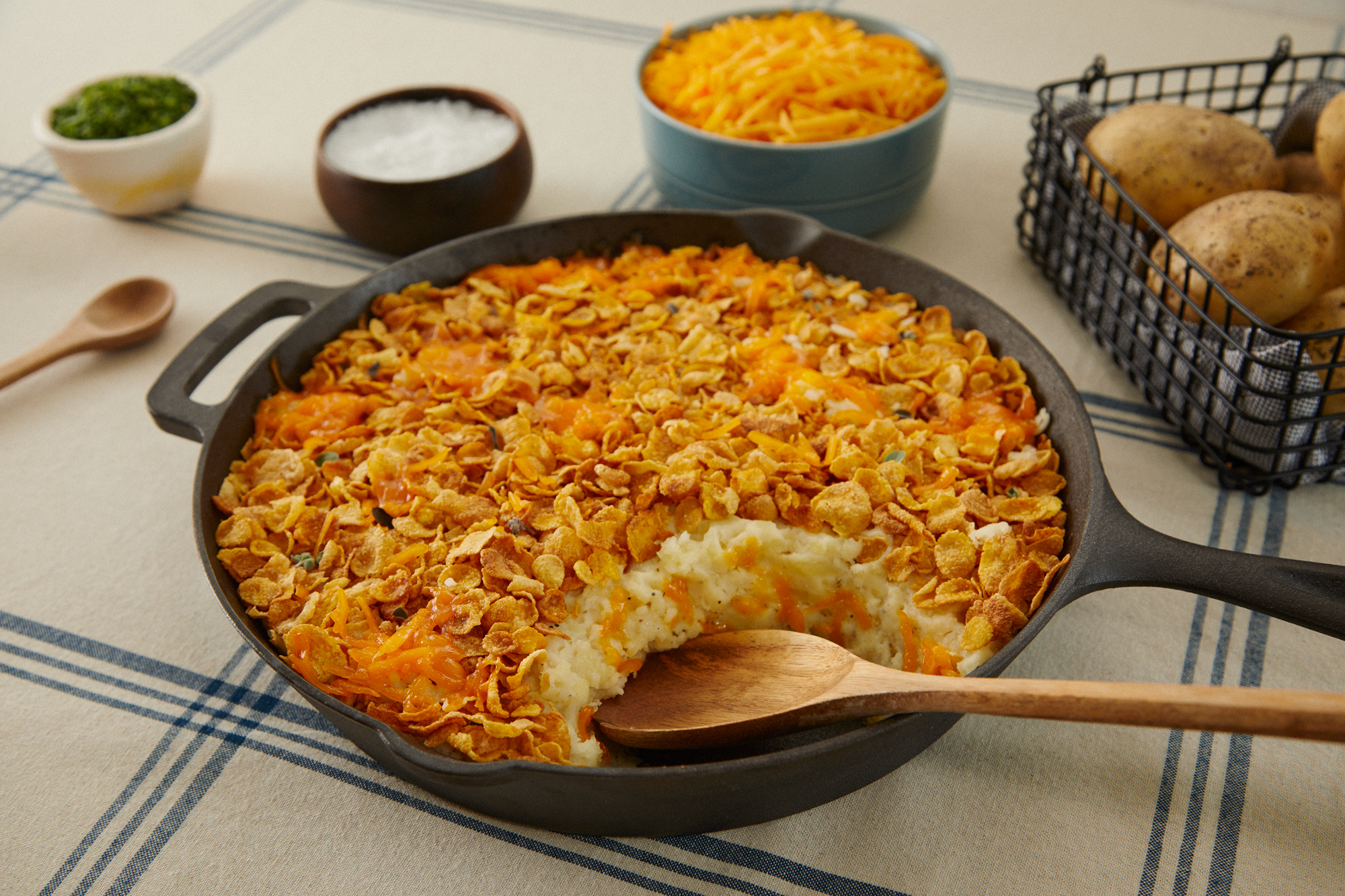 Cache Valley Creamery Funeral Potatoes