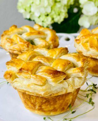 Chef Jamie Muffin Pan Chicken Pot Pies