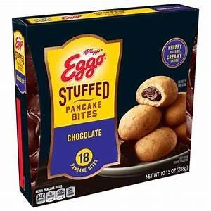 Eggo Stuffed Pancake Bites Chocolate