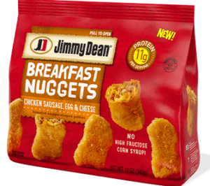 Jimmy Dean Sausage, Egg & Cheese Breakfast Nuggets