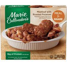 Marie Callenders Meatloaf with Roasted Potatoes