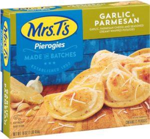 Mrs Ts Garlic Parmesan Pierogies