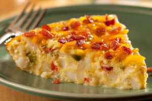 OreIda Egg Potato Bacon Skillet Bake