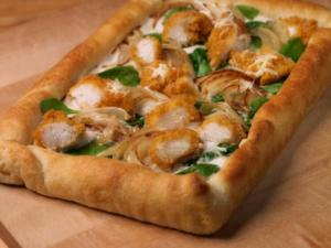 Tyson Crispy Chicken and Cheesy Spinach Tart