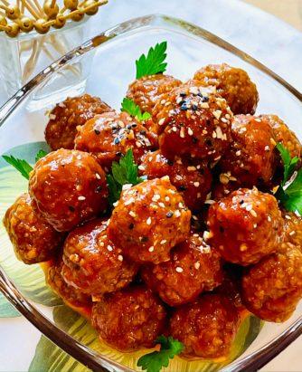 Chef Jamie Korean Meatballs