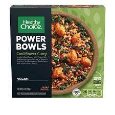 Healthy Choice Cauliflower Curry
