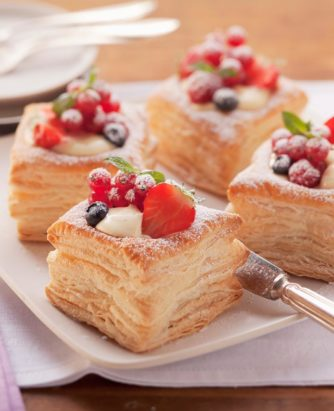Wewalka Vanilla puff Pastry